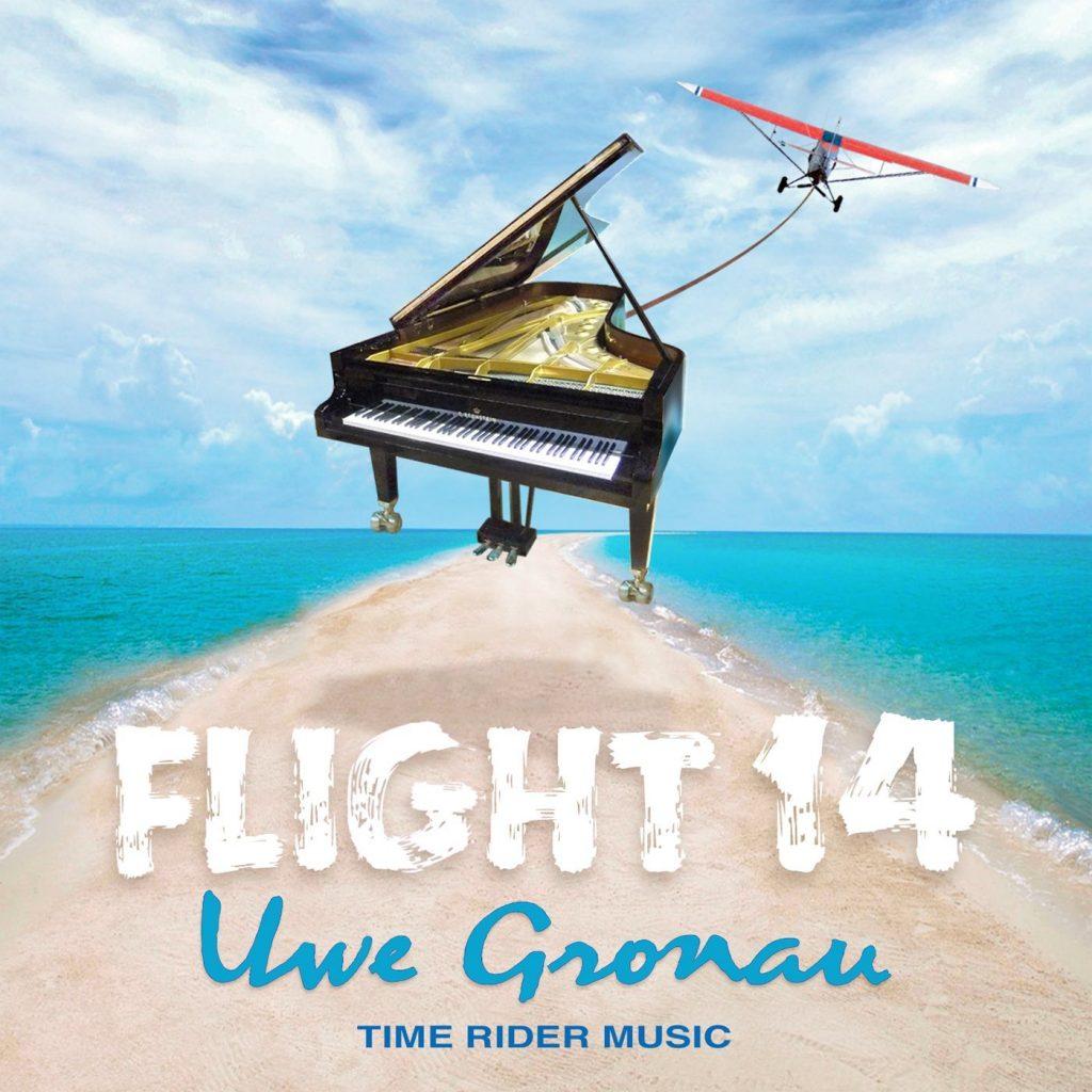 """CD-Cover """"Flight 14"""" von Uwe Gronau, 2013"""