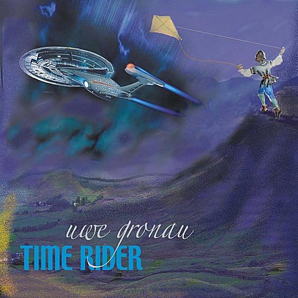 """CD-Cover """"Time Rider"""" von Uwe Gronau, 2011"""